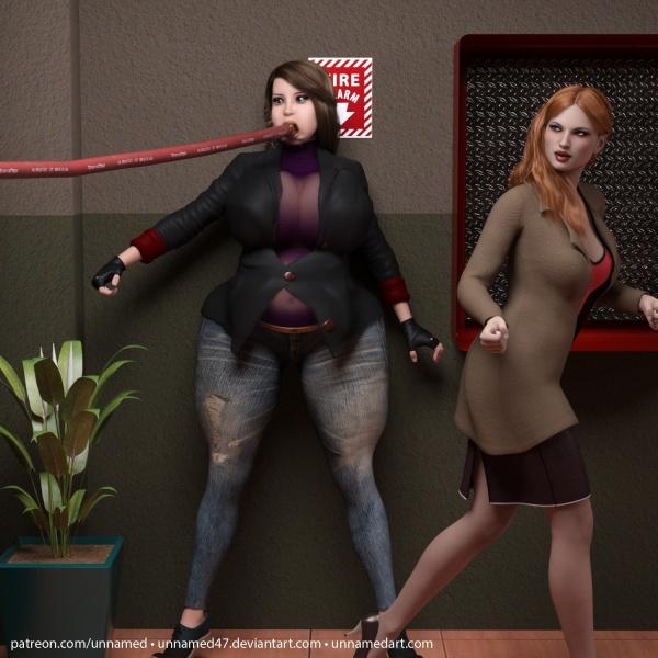 Hitwoman Fire Hose Inflation 16