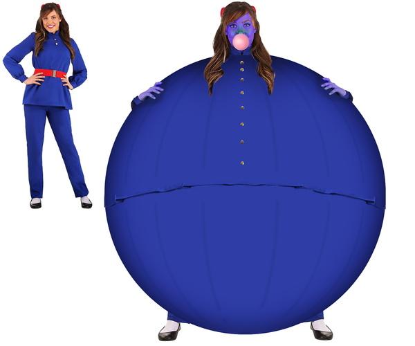 Violet costume blueberried