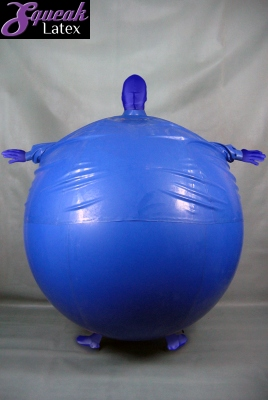 Inflatable blueberry costume